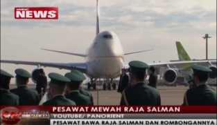 Pesawat Mewah Raja Salman