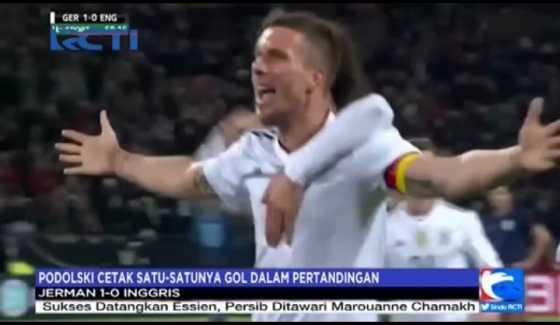 Jerman Kalahkan Inggris 1-0