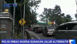 Kemacetan di Kawasan Lembang Belum Teratasi