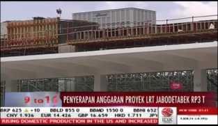 Kontruksi Proyek LRT Jabodetabek Rampung 15 Persen