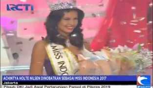Achintya Holte Nilsen Dinobatkan Sebagai Miss Indonesia 2017