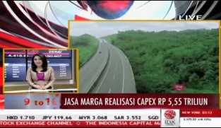 Jasa Marga Catat Realisasi Belanja Modal Rp3,35 Triliun