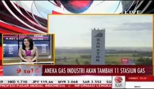 Aneka Gas Industri Akan Tambah 11 Stasiun Gas