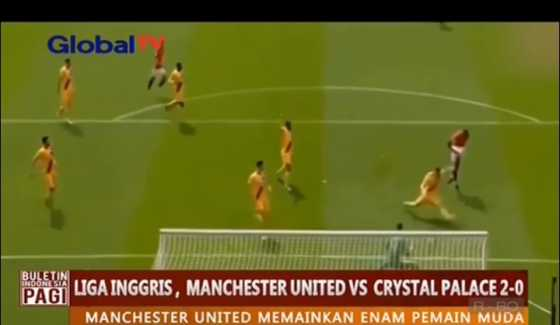 Manchester United Cetak 2 Gol ke Gawang Palace