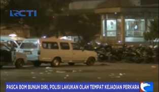 Pasca Bom Bunuh Diri, Polisi Lakukan Olah TKP di Kampung Melayu