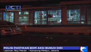 Polisi Pastikan Bom Aksi Bunuh Diri