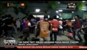 Tak Dapat Tiket, Ribuan Pendukung Persija Jakarta Paksa Masuk Stadion