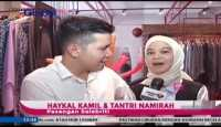 Haykal Kamil Temani Istri Beli Baju Lebaran