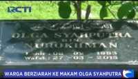 Makam Olga Syahputra Dipenuhi Peziarah