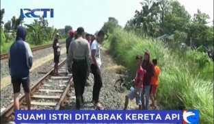 KA Maharani Tabrak Pasutri di Semarang