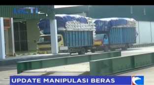 Usai Digerebek, Begini Situasi Pabrik Beras di Bekasi