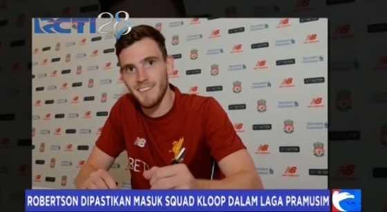 Liverpool Resmi Dapatkan Andrew Robertson dari Hull City