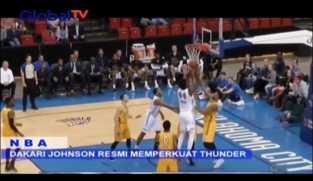 Dakari Johnson Resmi Perkuat Thunder di Laga NBA