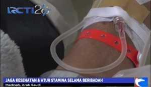 Dehidrasi, Puluhan Calon Haji Dirawat di Klinik Kesehatan