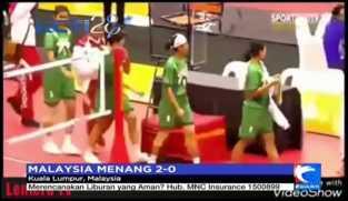 Tim Sepak Takraw Indonesia Merasa Dicurangi Wasit