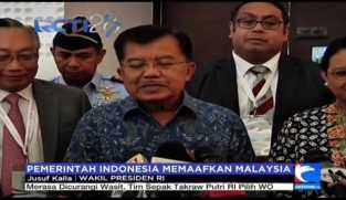 Pemerintah Indonesia Memaafkan Malaysia