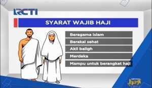 Ini Dia! Persyaratan Umat Muslim yang Hendak Berhaji