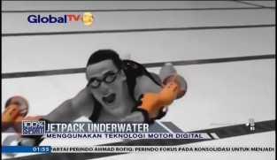 Jetpack Underwater, Terobosan Baru untuk Menyelam