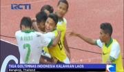 Tiga Gol Timnas Indonesia Kalahkan Laos