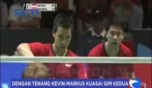 Hore! Pasangan Bulu Tangkis Kevin-Marcus Laju ke Final Jepang Super Series