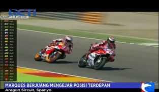 Marques Berjuang Mengejar Posisi Terdepan di GP Aragon
