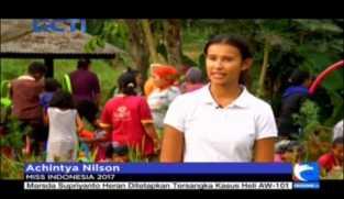 Isu Gizi di Girijaya Gugah Miss Indonesia 2017