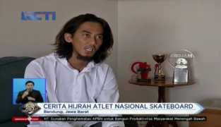 Cerita Hijrah Atlet Skateboard Nasional
