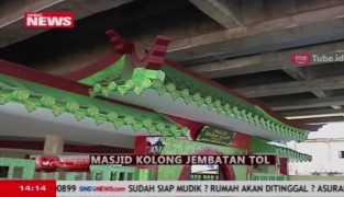 Masjid Bergaya Budaya Tionghoa di Kolong Tol