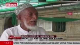 Masjid Dibangun dari Putih Telu dan Kayu Cina