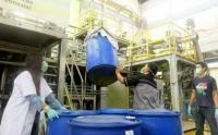 LIPI Produksi 250 Liter Hand Sanitizer dan 2.000 Liter Disinfektan