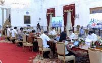 Presiden Jokowi Pimpin Ratas Perencanaan Transformasi Digital
