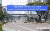 Ganjil-Genap Diberlakukan pada 25 Ruas Jalan di Jakarta