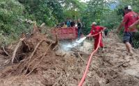 PMI Buka Akses Jalan Dampak Longsor Bolaang Mongondow