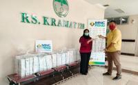 MNC Peduli Bersama PPA Salurkan Makanan untuk Tenaga Medis dan Non Medis RS Kramat 128