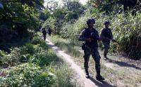 Patroli Rutin Satgas Pamtas RI-PNG Yonif Mekanis Raider 413 Kostrad
