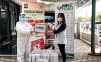 MNC Peduli Salurkan Masker Kain dan Makanan di Puskesmas Bogor Tengah dan Sempur Bogor