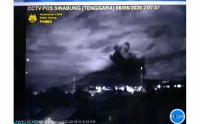 3 Kecamatan Terdampak Abu Vulkanik Gunung Sinabung