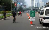 Bundaran HI Masih Jadi Spot Menarik Warga untuk Bersepeda di Akhir Pekan