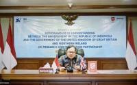 Pemerintah Indonesia dan Inggris Sepakat untuk Memperkuat Kerja Sama Riset dan Inovasi