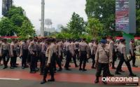 Pengamanan Aksi Buruh di Sidang Tahunan DPR MPR RI