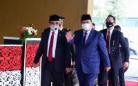 Prabowo Subianto Hadiri Sidang Tahunan MPR