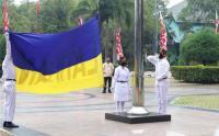 Intip Gladi Resik Upacara HUT RI ke-75 di Kantor Walikota Jakarta Utara