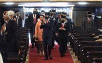 Bahas RAPBN 2021, Presiden Jokowi Tidak Lagi Memakai Baju Adat NTT
