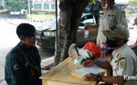 Operasi Tibmask di Jalan CNI Puri Kembangan