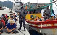 KRI Bung Tomo 357 Tangkap 2 Kapal Ikan Berbendera Vietnam