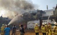 Kebakaran Rumah Tinggal di Pasar Senen Poncol