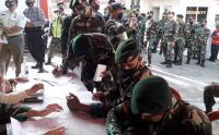 Kostrad Gelar Donor Darah di Sukabumi