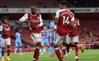 Jamu West Ham United, Arsenal Menang Tipis 2-1
