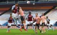 Aksi Ezri Konsa Menangkan Aston Villa atas Sheffield United