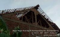 Angin Puting Beliung Terjang Cirebon